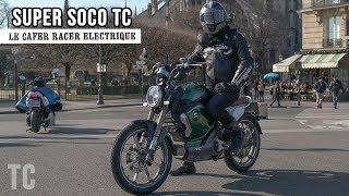 Download TEST 13 : SUPER SOCO TC - CAFER RACER BRUSHLESS (150NM) Video