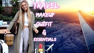 Download Airplane/Travel Makeup, Outfit Ideas & My Carry On Essentials! Video