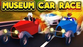 Download RACING THE NEW MUSEUM CAR! (ROBLOX Jailbreak) Video
