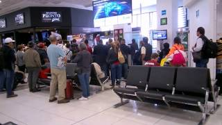 Download Mexico City International Airport - Walking Through International Departures and Arrivals - T1 Video
