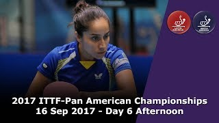Download 2017 ITTF-PanAm Championships - Day 6 Afternoon Video