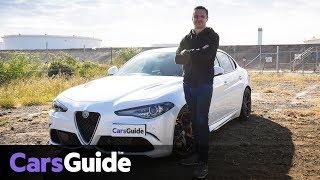 Download Alfa Romeo Giulia Quadrifoglio 2017 review: road test video Video