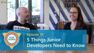 Download #FiveThings Junior Developers Need to Know {S:01 E:19} Video