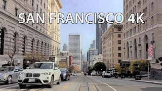 Download Driving Downtown - San Francisco 4K - USA Video