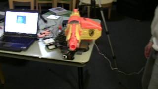 Download Nerf Sentry Gun...Be Afraid Video