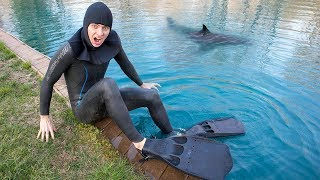Download SCUBA DIVING IN POND FOR TREASURE!! (I FOUND IT!) Video