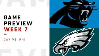 Download Carolina Panthers vs. Philadelphia Eagles | Week 7 Game Preview | Move the Sticks Video