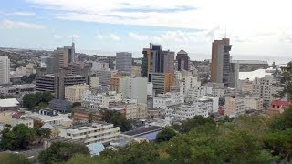 Download Port Louis - the capital of Mauritius HD Video