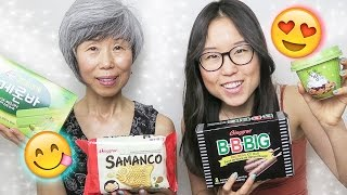 Download KOREAN ICE CREAM HAUL with Mommy Oh Video