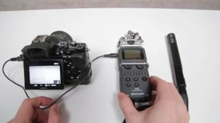Download Zoom H5 as XLR Preamp on Sony A7s Video