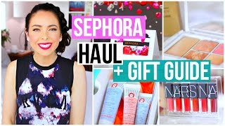 Download Sephora Haul + Holiday 2016 Gift Guide! Video