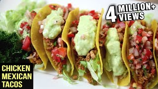 Download Chicken Mexican Tacos Recipe   Tacos With Chicken Filling   The Bombay Chef – Varun Inamdar Video
