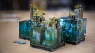 Download How to Make Miniature Underwater Dystopian Cityscapes! Video