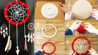 Download DIY Super Easy Way to Make a Dreamcatcher   Step by step! Easy tutorial! DiYana Video