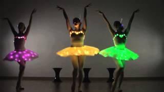 Download LED Ballerinas - Ballerina Dance / Modern Ballet Show - Contraband Entertainment Video