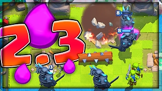 Download 2.3 PEKKA CYCLE DECK • Clash Royale NEW BALANCE CHANGES Video