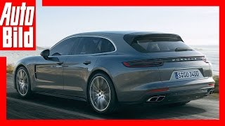 Download Porsche Panamera Sport Turismo (2017) - Porsches erster Kombi Video