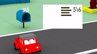 Download Learn numbers with Jeppy: Help him deliver the letter !| Educational cartoon for children Video