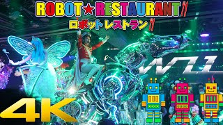 Download Robot Restaurant in Shinjuku Show 4K HD Video