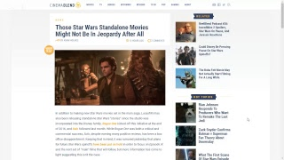 Download The Star Wars Spin-Offs are Saved! Thank the Maker! Video