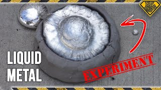 Download Will Liquid Metal Cast in Clay? Video
