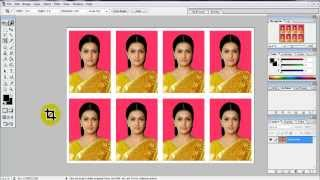 Download create Passport size Photo in adobe Photoshop 7.0 Video