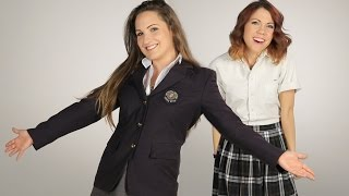 Download Women Try Their Old Catholic School Uniforms Video