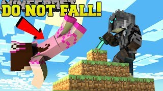 Download Minecraft: DO NOT FALL!! (STAY ON TOP OR DIE!) Mini-Game Video