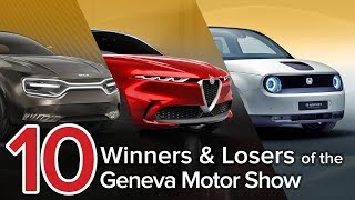 Download 10 Winners & Losers of the 2019 Geneva Motor Show: The Short List Video