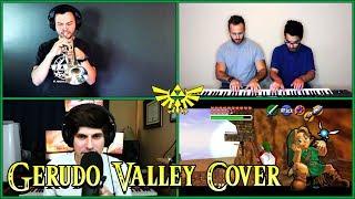 Download Zelda - Gerudo Valley (Piano/Trumpet/Beatbox Cover) Video