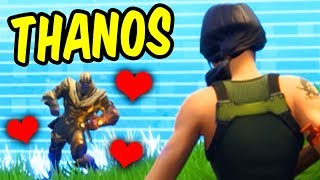 Download Thanos makes a friend in Fortnite Battle Royale Video