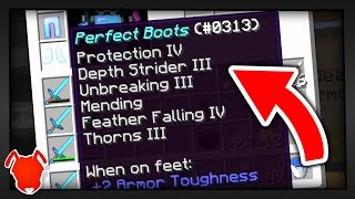 Download PERFECT ENCHANTS in MINECRAFT SURVIVAL?! Video