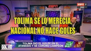 Download Analisis Nacional vs Tolima - TOLIMA CAMPEON Video