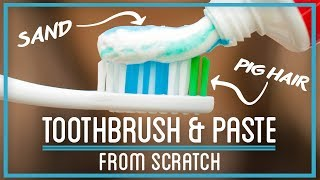 Download Cleaning Your Teeth Using Pig Hair, Sand, and Hooves Video