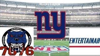 Download Talkin Giants! New York Giants Live Show- Recap of Jets vs Giants Golden Tate will serve suspension Video