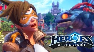 Download Heroes of the Storm - Tracer Trailer Video