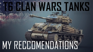 Download World of Tanks: Best Medium Tanks for Tier 6 Clan Wars Video