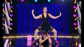 """Download Moment 18+ la """"iUmor""""! Un fel de acrobații cu David și Fofo, care i-au lăsat fără glas pe j Video"""