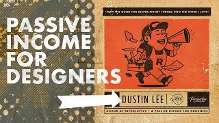 Download 🔴 Passive Income For Designers w/ Dustin Lee Livestream Video