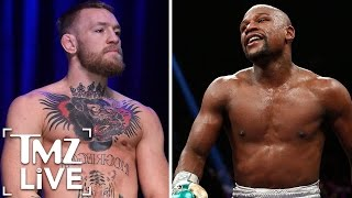 Download CONOR MCGREGOR Battle with FLOYD MAYWEATHER | TMZ Live Video