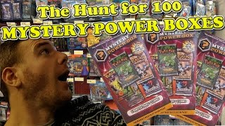 Download The Pokemon hunt for 100 Mystery Power Boxes! Part #1 Video