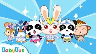 Download Super Rabbit Momo | Defeat Bad Bacterial | Doctor Pretend Play | Kids Good Habits | BabyBus Video