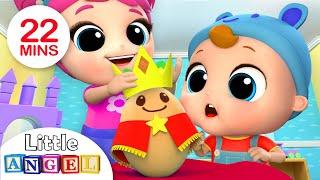Download Humpty Dumpty Wears the Crown | Nursery Rhymes by Little Angel Video