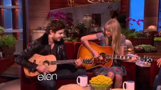 Download Taylor Swift and Zac Efron Sing a Duet! - The Ellen DeGeneres Show.flv Video