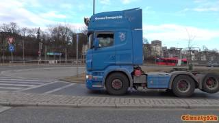 Download 4K| Scania R580 V8 Straight Pipe Sound Video