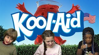 Download German Kids try Kool-Aid Drinks from the US Video