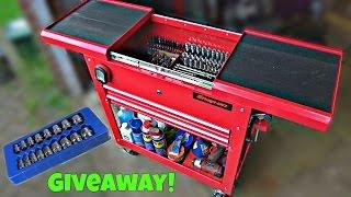 Download Tool Cart Tour + Giveaway Winner! Video