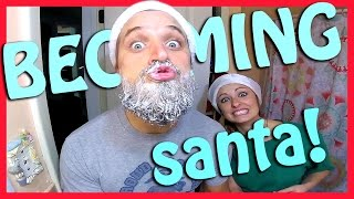 Download DYING MY BEARD WHITE FOR CHRISTMAS!! Video