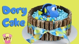 Download FINDING DORY KIT KAT CAKE - with m&ms and baby dory! Kids birthday cake Video