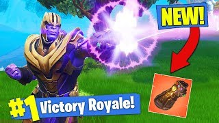 Download *NEW* THANOS GAMEPLAY & GAUNTLET In Fortnite Battle Royale! Video